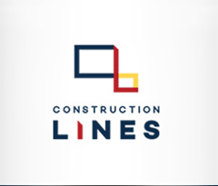 Construction Lines Retina Logo